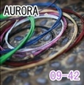 AURORA 美國進口紫色電吉他弦(09-42)【AURORA吉他弦專賣店/進口弦】