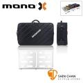 美國 MONO PEDALBOARD MEDIUM 銀色中型效果器盤 +  TOUR 2.0 中型效果器袋 軍事化防震防潑水【PFX-PB-M-SLV】