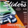 Thomastik Infeld奧地利手工電吉他弦 (Sliders系列: SL109 (09-43)電吉他弦【進口弦專賣店/SL-109/手工弦】