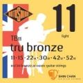 ROTOSOUND TB11銅合金民謠吉他弦(11-52)【英國製/木吉他弦/TB-11】
