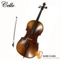大提琴 Cello | 初級虎紋楓木4/4 大提琴 Cello (附弓、松香、琴架、硬盒) AB15-P