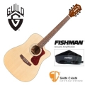 Guild吉他> 美國經典品牌 Guild D-140CE 可插電切角全單板吉他/標準D桶/Fishman拾音器(雲杉面板/非洲桃花心木側背板)附Guild原廠吉他袋/軟Case 總代理公司貨