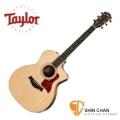 Taylor 214ce DLX 單板 可插電切角民謠吉他 墨廠 附硬盒【214-ce DLX/木吉他/GA桶身】
