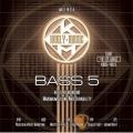 Bass弦►Kerly 冰火弦 KQXB-40125 美製 5弦電貝斯弦  (40-125)