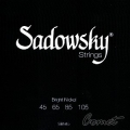 Sadowsky 貝斯弦(Bright Nickel)45~105【貝斯弦專賣店/進口貝斯弦】