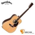 Sigma吉他 | Sigma 吉他 DM-4 單板民謠吉他(DM4/雲杉面單板/經典D桶身) 附贈吉他袋【源自Martin製琴工藝】