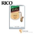 竹片►美國 RICO La Voz 次中音 薩克斯風竹片  Medium Hard  (3號)  Tenor Sax (10片/盒)
