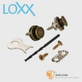 LOXX A-A-BRASS 木吉他安全背帶扣 德國製