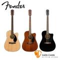 FENDER CD-60SCE 可插電 單板民謠吉他 內建調音器 附琴袋、導線【Fender電木吉他專賣店/吉他品牌/CD60SCE】
