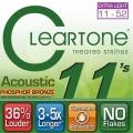 CLeaRTone(0.11-0.52)頂級民謠弦(磷青銅)【CLeaRTone吉他弦專賣店/進口弦/7411】