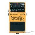 BOSS AC-3 空心吉他模擬效果器 【AC3 /ACOUSTIC SIMUTOR/電吉他模擬木吉他/強化版/殘響效果】