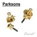 Parksons 韓製-吉他專用安全背帶釘(金色)