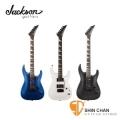 jackson吉他 ► Jackson JS22 DINKY 小搖座電吉他 (鯊魚鰭指位記號)  附琴袋、背帶、導線、琴布、Pick X 2【JS-22/雙雙拾音器】
