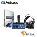 Presonus AudioBox 96 Studio 行動錄音套裝組【原廠公司貨 一年保固】錄音介面/錄音界面