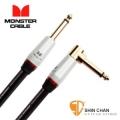 monster導線 ► Monster SP2000-I-21A 一直頭一L頭 錄音室等級 樂器專用導線 21呎 (630公分)【吉他/貝斯/鍵盤/電子鼓/監聽喇叭/電子樂器專用】/喇叭線