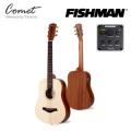 Comet Baby 1S-EQ  美國Fishman拾音器-可插電單板小吉他/旅行吉他 雲杉木 36吋/mini吉他-贈吉他袋(厚袋)