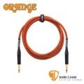 樂器行 ► Orange STIN-OR-10 10呎雙直頭吉他/貝斯專用高傳真導線【電吉他/電貝斯/電民謠吉他/電子琴皆可用】