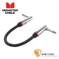 monster短導線 ► Monster P600-I-0.75DA 雙L頭 專業級 效果器專用短導線 0.75呎 (23公分)【效果器專用】