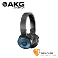 AKG K619 BLUE DJ系列高音質耳罩式線控耳機 iPod/iPhone/iPad相容【K-619】