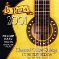 La Bella 2001MH 中高張力古典吉他弦【La Bella古典弦專賣店/尼龍弦/2001-MH】
