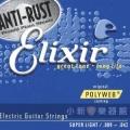 Elixir頂級電吉他弦-POLYWEB (12000) (09-42)【Elixir吉他弦專賣店/進口弦】