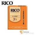 竹片►美國 RICO 豎笛/黑管 竹片 3.5號 Bb Clarinet (10片/盒)【橘包裝】