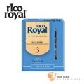 竹片►美國 RICO ROYAL 豎笛/黑管 竹片 3號 Bb Clarinet (10片/盒)