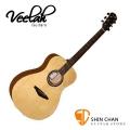 Veelah吉他 V1-F 中型桶身/面單板-附贈Veelah木吉他袋/V1專用(全配件)/台灣公司貨