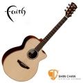 Faith 英國名牌 FVHG-HEX 頂級版-可插電全單板吉他(英格曼雲杉+玫瑰木側背板)+德製 Shadow L4020HEX拾音器(FVHG HEX/印尼廠/附原廠硬盒)