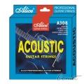 Alice A308SL  防鏽民謠吉他弦-民謠吉他弦(0.11~0.52) (A308SL)