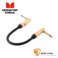 短導線 ▷ Monster Rock2-0.75DA  電吉他 效果器專用短導線 22公分
