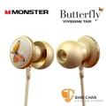 Monster 蝴蝶耳機Butterfly(華裔設計師Vivienne Tam)iPhone/iPad/MP3 耳道式耳機/附通話麥克風