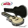 美國 SKB-3 進口民謠/古典吉他硬盒/薄桶身適用