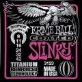 美國ERNIE BALL-3123 最新「鈦包覆」電吉他弦(09~42)