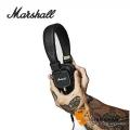 英國 Marshall Major II (經典黑)有線耳機/內建麥克風/公司貨 耳罩式耳機 送獨家英國倫敦吉他Pick組