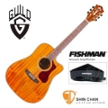 Guild吉他> 美國經典品牌 Guild D-120CE 可插電切角全單板吉他(標準D桶身)Fishman拾音器/附Guild原廠吉他袋/軟Case 總代理公司貨