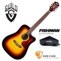 Guild吉他> 美國經典品牌 Guild D-140CE(SB) 可插電切角全單板吉他/夕陽色/標準D桶/Fishman拾音器(雲杉面板/非洲桃花心木側背板)附Guild原廠吉他袋/軟硬盒