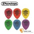 Dunlop 4231 彈片Pick(六片組) 【Dunlop專賣店/Tortex Small Tear Drop】