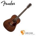 Fender CD-140S 全桃花心木 單板民謠吉他 單板木吉他 附贈琴袋、背帶、Pick×2、移調夾【CD140S/FENDER專賣店】