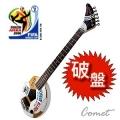 足球吉他↘限量3把 ARIA 足球電吉他/旅行小吉他/攜帶的電吉他(內建音箱)FINA足總認證