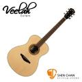 Veelah吉他 V3-F 非洲黑桃木/F桶身/面單板-附贈Veelah木吉他袋/V3專用(全配件)台灣公司貨