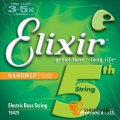 Elixir 電貝斯弦 第五弦 單弦/單一弦 Nanoweb(B/.125)(15425)【Elixir貝斯弦專賣店/進口貝斯弦】