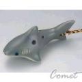 四孔陶笛 鯊魚造型 (ZK1-8) 內附簡易指法表 【4孔陶笛】