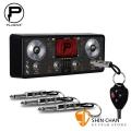 Pluginz 鑰匙圈/EQUALIZER 等化器造型鑰匙座 (4支鑰匙圈/1個鑰匙座)-吉他手最愛文創商品/禮物