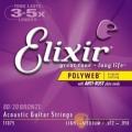 Elixir頂級民謠弦- Polyweb(11075)(12-56)【Elixir進口弦專賣店/木吉他弦】