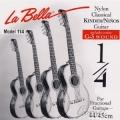 La Bella FG114 纏弦增強32吋古典吉他專用弦【古典弦專賣店/尼龍弦/FG-114】