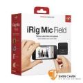 irig ► iRig Mic Field 高品質數位立體聲麥克風 原廠公司貨【蘋果專用/Lighting傳輸】