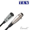 TEV 04G-03G 麥克風線(8公尺/XLR to XLR/卡農線) 適用於動圈式麥克風