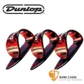 Dunlop 玳瑁色拇指套 PICK 彈片(一組三個)Shell Plastic Thumbpicks【9023P/9023-P】