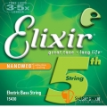 Elixir 電貝斯第五弦單弦/單一弦 Nanoweb(B/.130)(15430)【Elixir貝斯弦專賣店/進口貝斯弦】
